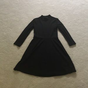 Forever 21 Black Ribbed Dress
